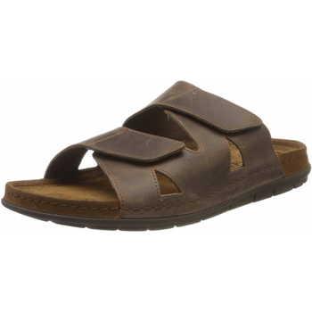 Schuhe Herren Pantoffel Rohde  braun
