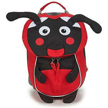 Taschen Mädchen Rucksäcke Affenzahn LILLY LADYBIRD Rot