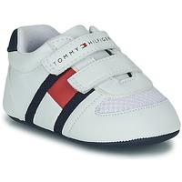 Schuhe Kinder Sneaker Low Tommy Hilfiger T0B4-30191 Weiss