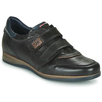 Schuhe Herren Sneaker Low Fluchos DANIEL Schwarz