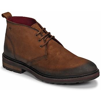 Schuhe Herren Boots Fluchos OWEN Braun