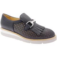 Schuhe Damen Slipper Donna Soft DOSODS0760Gbl blu