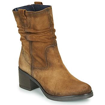 Schuhe Damen Low Boots Dorking ROX Braun