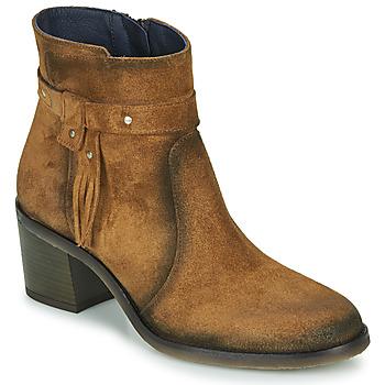 Schuhe Damen Low Boots Dorking AMBRA Braun