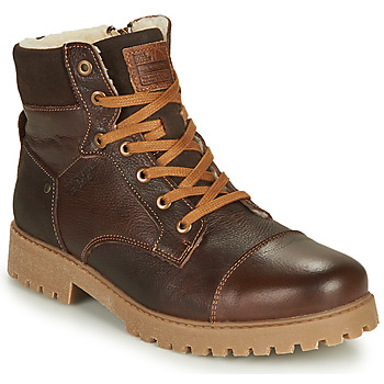 Schuhe Jungen Boots Bullboxer ALL518E6LA-BRWN Braun