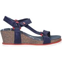 Schuhe Damen Sandalen / Sandaletten Panama Jack Violet Navy B1 Azul