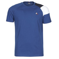 Kleidung Herren T-Shirts Le Coq Sportif ESS TEE SS N°10 M Blau