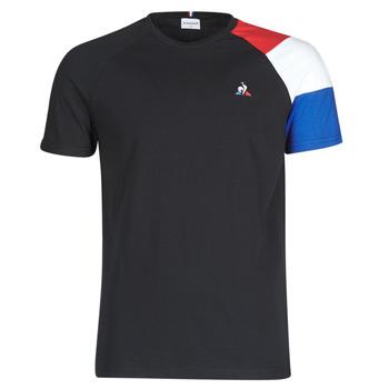 Kleidung Herren T-Shirts Le Coq Sportif ESS TEE SS N°10 M Schwarz
