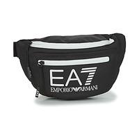 Taschen Hüfttasche Emporio Armani EA7 TRAIN CORE U SLING BAG Schwarz / Weiss