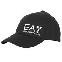 Accessoires Herren Schirmmütze Emporio Armani EA7 TRAIN CORE ID M LOGO CAP Schwarz