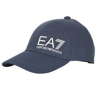 Accessoires Herren Schirmmütze Emporio Armani EA7 TRAIN CORE ID M LOGO CAP Marine