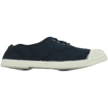 Schuhe Herren Tennisschuhe Bensimon Tennis Lacets Blau