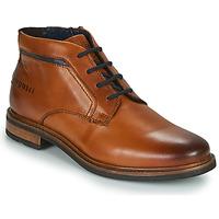 Schuhe Herren Boots Bugatti NELS Braun