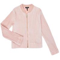 Kleidung Mädchen Strickjacken Ikks XR17022 Rose