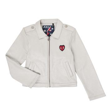 Kleidung Mädchen Strickjacken Ikks XR17032 Grau