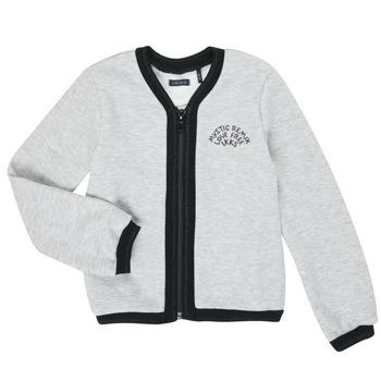 Kleidung Mädchen Strickjacken Ikks XR17062 Grau