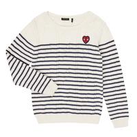 Kleidung Mädchen Pullover Ikks XR18032 Weiss