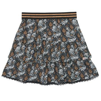 Kleidung Mädchen Röcke Ikks XR27082 Schwarz