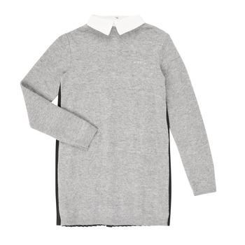 Kleidung Mädchen Kurze Kleider Ikks XR30082 Grau
