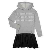 Kleidung Mädchen Kurze Kleider Ikks XR30112 Grau