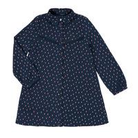 Kleidung Mädchen Kurze Kleider Ikks XR30152 Blau