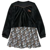 Kleidung Mädchen Kurze Kleider Ikks XR30162 Schwarz