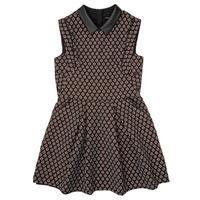 Kleidung Mädchen Kurze Kleider Ikks XR30212 Schwarz