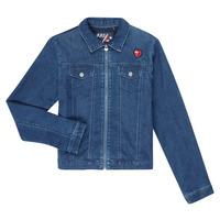 Kleidung Mädchen Jeansjacken Ikks XR40052 Blau