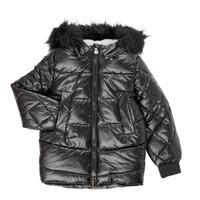 Kleidung Mädchen Parkas Ikks XR41122 Schwarz