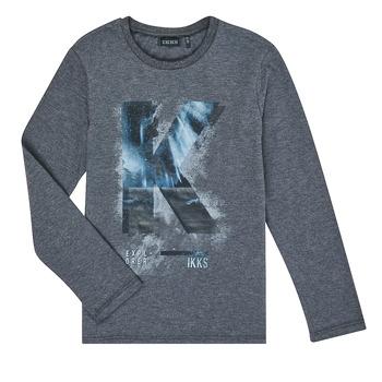Kleidung Jungen Langarmshirts Ikks XR10203 Grau