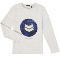 Kleidung Jungen Langarmshirts Ikks XR10273 Grau