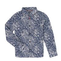 Kleidung Jungen Langärmelige Hemden Ikks XR12023 Blau