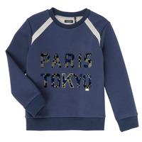 Kleidung Jungen Sweatshirts Ikks XR15093 Blau
