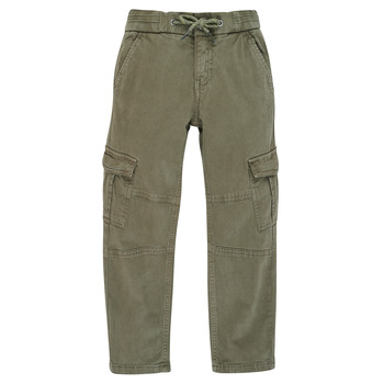 Kleidung Jungen Cargo Hosen Ikks XR22033 Kaki