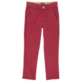 Kleidung Jungen 5-Pocket-Hosen Ikks XR22093J Rot