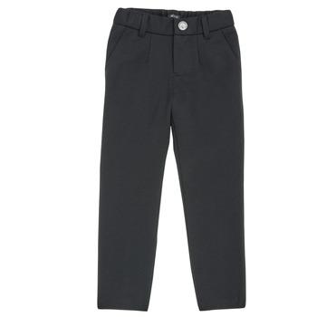 Kleidung Jungen 5-Pocket-Hosen Ikks XR23023 Schwarz