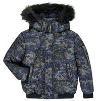 Kleidung Jungen Daunenjacken Ikks XR41133 Blau