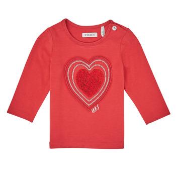 Kleidung Mädchen Langarmshirts Ikks XR10010 Orange