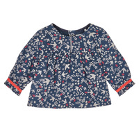 Kleidung Mädchen Hemden Ikks XR12010 Blau