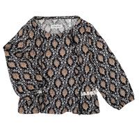 Kleidung Mädchen Hemden Ikks XR12020 Schwarz