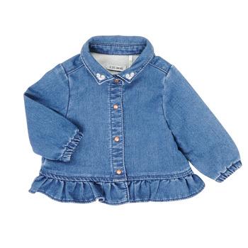 Kleidung Mädchen Hemden Ikks XR12030 Blau