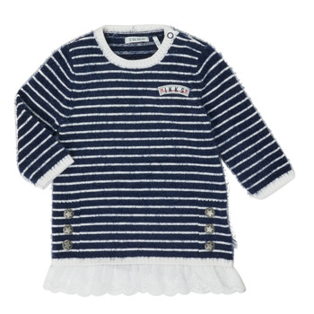 Kleidung Mädchen Kurze Kleider Ikks XR30030 Weiss