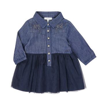 Kleidung Mädchen Kurze Kleider Ikks XR30150 Blau