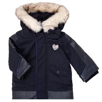 Kleidung Mädchen Parkas Ikks XR42000 Blau