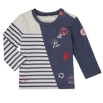 Kleidung Jungen Langarmshirts Ikks XR10041 Weiss