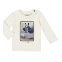 Kleidung Jungen Langarmshirts Ikks XR10101 Weiss