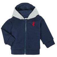 Kleidung Jungen Strickjacken Ikks XR17001 Blau