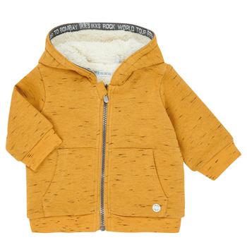 Kleidung Jungen Strickjacken Ikks XR17031 Gelb