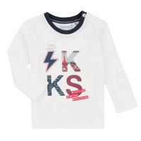 Kleidung Jungen Kleider & Outfits Ikks XR36001 Weiss