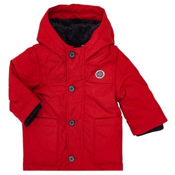 Kleidung Jungen Parkas Ikks XR42001 Rot